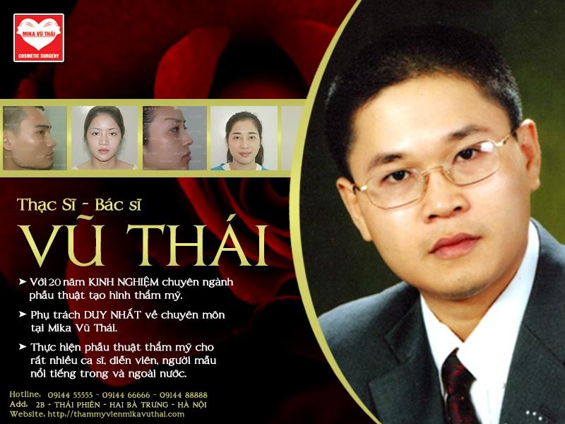 phẫu thuật độn cằm mika vũ thái tại Hà Nội